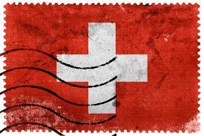 Kredit mit negativer Schufa; Schweizer Flagge